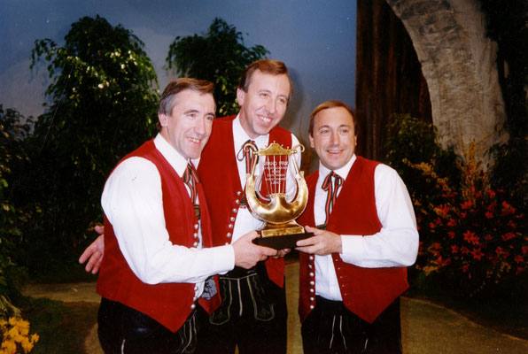 Sieg bei der Österreich-Ausscheidung zum Grand Prix der Volksmusik