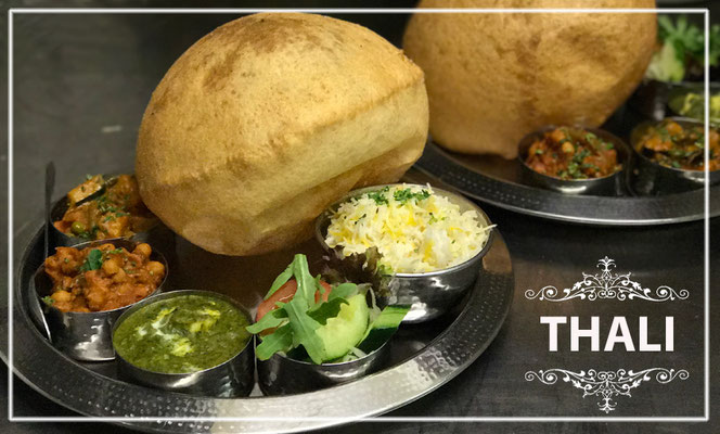 Thali - Traditionelles indische Essen