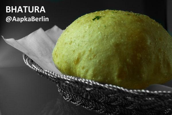 Bhatura - Indisches Ballon Brot frittiert