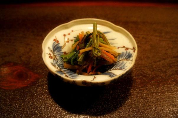 わらびと恵みの野菜たっぷりのきんぴら