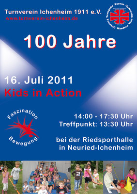 Flyer zum Programm «Kids in Action»
