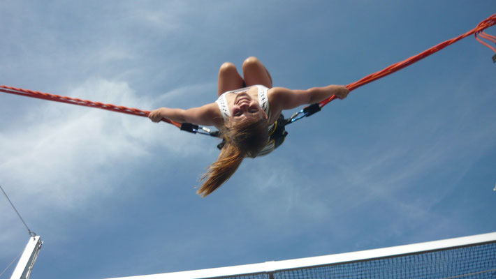 I belive I can Fly... Motto am Bungee-Trampolin