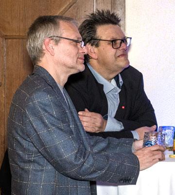 Robert Rothschädl mit SWV-Präsident Karlheinz Winkler
