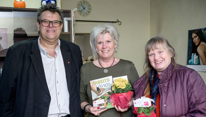 Karlheinz Winkler, Karin Schreiner (Spezial Haarstudio), Ingeborg Windhofer