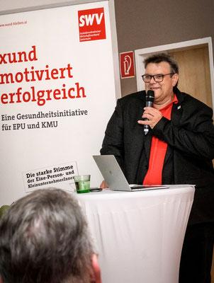 SWV-Präsident Karlheinz Winkler