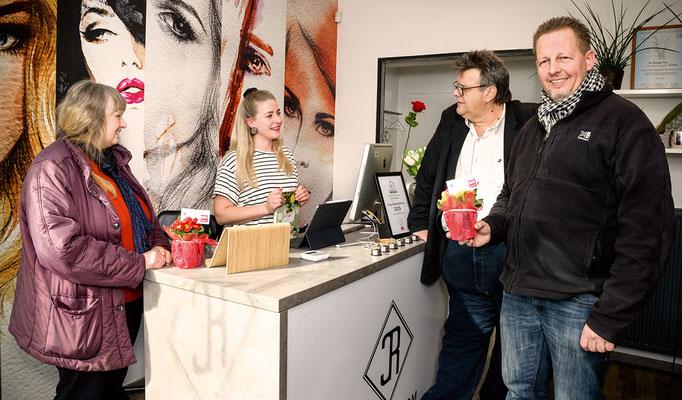 Ingeborg Windhofer, Cornelia Rom (Hair & Make Up Studio), Karlheinz Winkler, Michael Dornbusch
