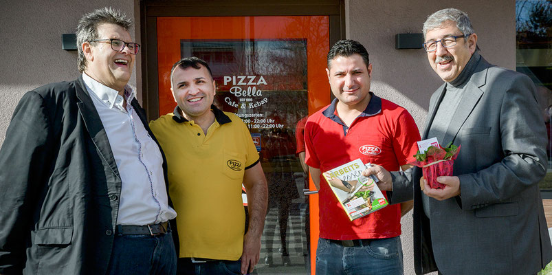 Karlheinz Winkler, Tuncay Cetinkaya (Pizza Bella), Fardin Tabrizi
