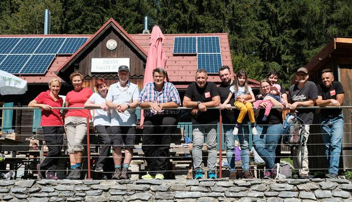 xund-bleiben-Wanderung auf die Johann-Waller-Hütte am 15.09.2019