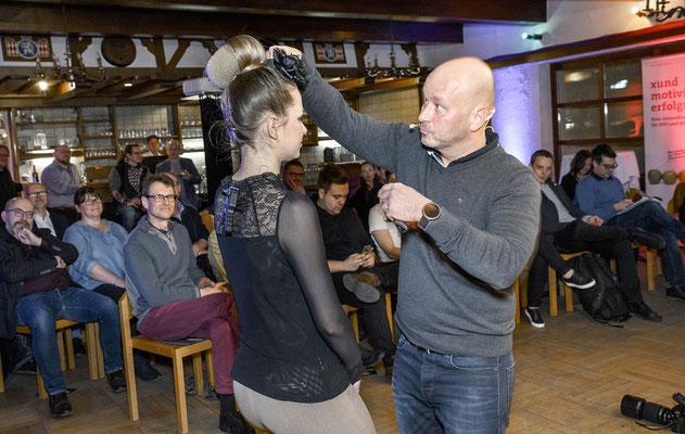 Foto-Profi Michael Schnabl mit Modell Theresa