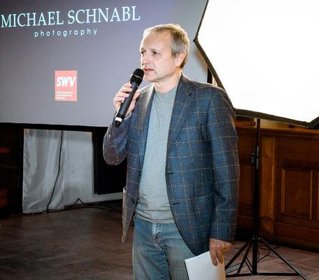 Moderator Robert Rothschädl