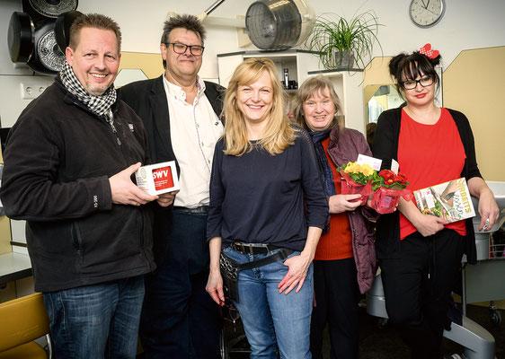 Michael Dornbusch, Karlheinz Winkler, Sonja Lierzer (Friseur Sonja), Ingeborg Windhofer