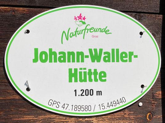 SWV-Wanderung auf die Johann-Waller-Hütte am Schöckl