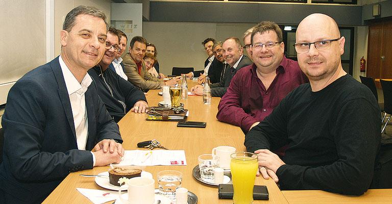 Startmeeting SWV-Oststeiermark: LAbg. Bgm. Wolfgang Dolesch und SWV-Vizepräsident KR Günter Uhl