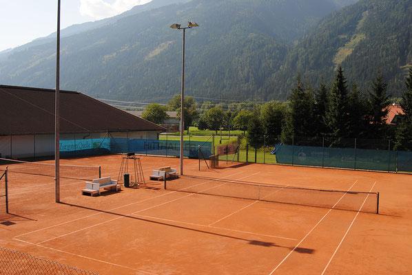 Tennisplätze Mölltaler Tenniszentrum, Obervellach