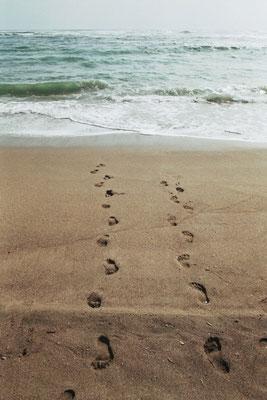 Spuren im Sand - Chile
