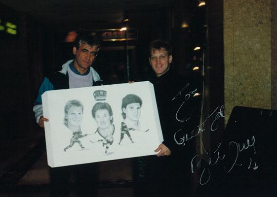 Collage mit Hull, Gretzky und Lemieux