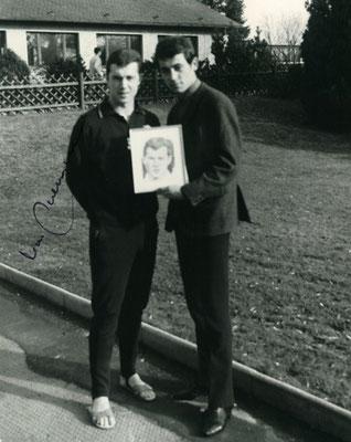 Franz Beckenbauer und Joachim Thiess