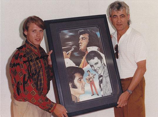 Pavel Bure und Joachim Thiess