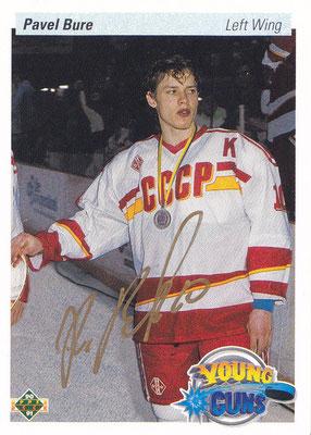 Autogrammkarte Pavel Bure