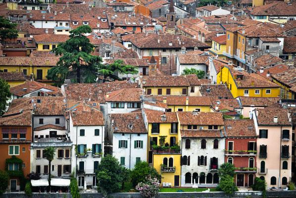 Über den Dächern von Verona