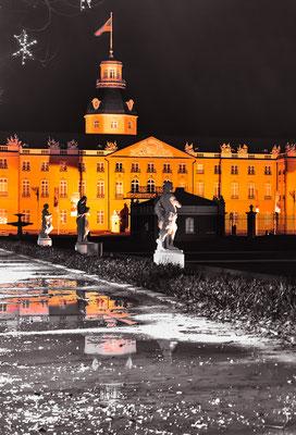 Zur Weihnachtszeit am Schlossplatz