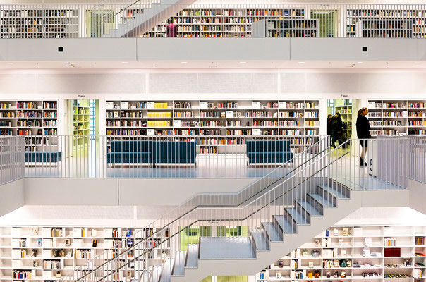Stadtbibliothek in Stuttgart
