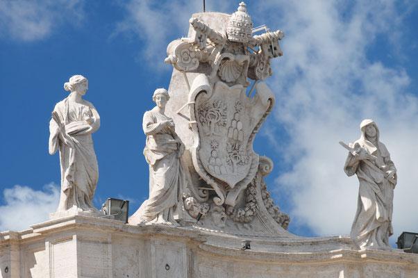 Rom - Auf dem Petersdom