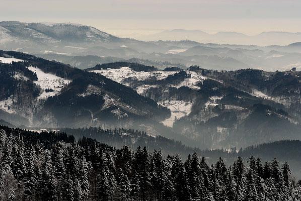 Winter an der Hochstraße