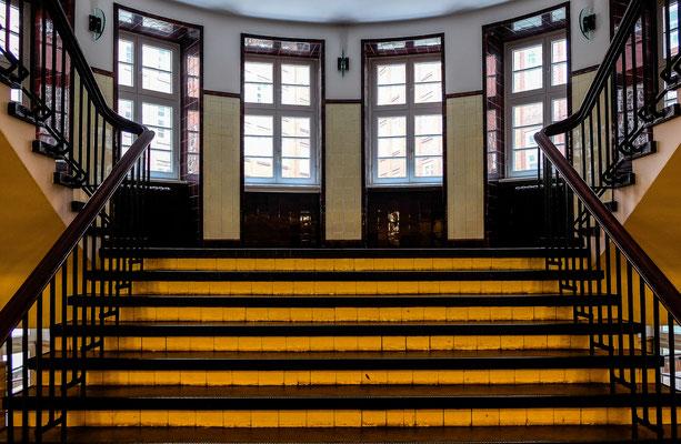 Treppenhaus in der Speicherstadt - Hamburg