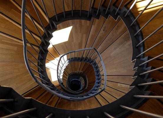 Treppenhaus - abwärts