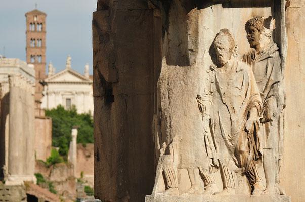 Rom - Im Forum Romanum