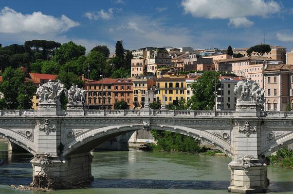 Rom - Tiberbrücke