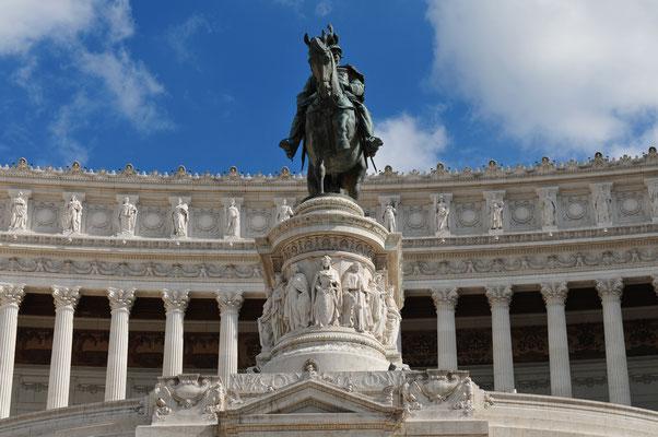 Rom - Vittoriano an der Piazza Venezia