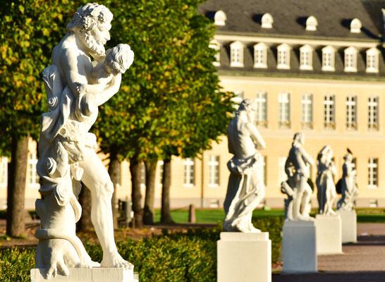 Auf dem Schlossplatz