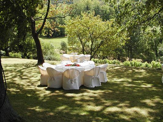 Idyllisch gelegen, bietet Weingut Nägelsförst den besonderen Rahmen für Ihre Feier