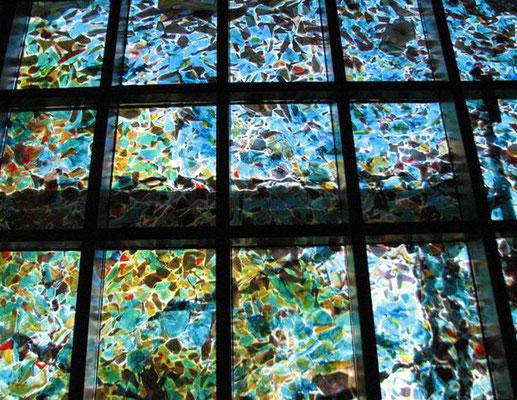 Nordfenster Ansicht von Innen