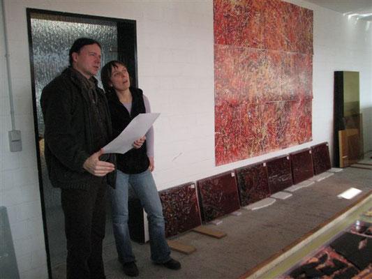 Pablo H. Hirndorf und Aleksandra Szafiejew