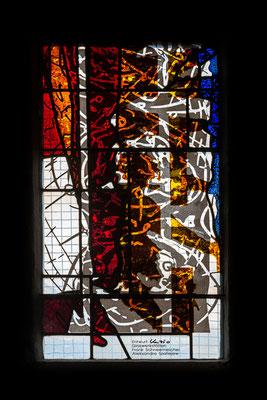 Detail Chorfenster Süd