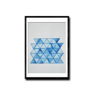 gestapelte Dreiecke