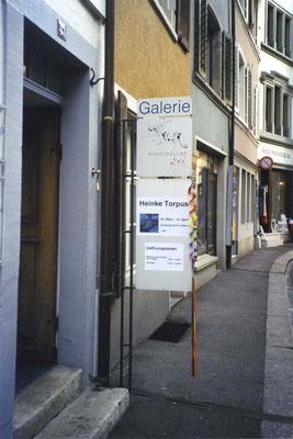 Eingang Galerie Kunstkeller