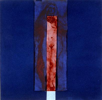 Peep-Show, 37/37 cm, Radierung