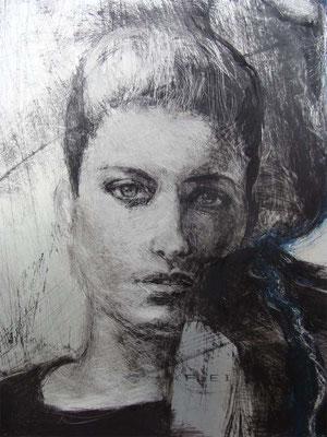 """Detail von """"Franca"""", ca. 2005"""