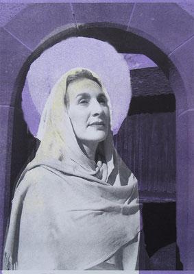 Elisabeth, 21/29.5 cm, Laserprints mit Handdruck