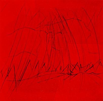 Rote, 37/37 cm, Radierung