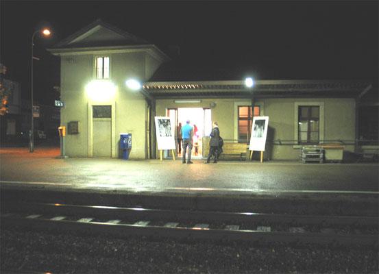 Gleis 1 Bahnhof Sissach
