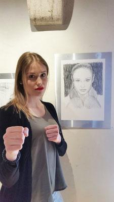 Ramona Brüderlin, Karate-Meisterin