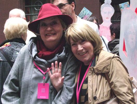 Elena Lichtsteiner und Christiane Haefelin