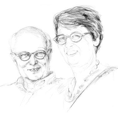 Heinz Schweingruber und Tabitha Schuler