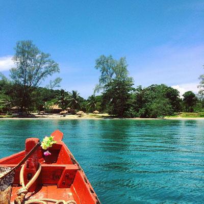 Boat trip to Koh Ta Kiev Island - Sihanoukville