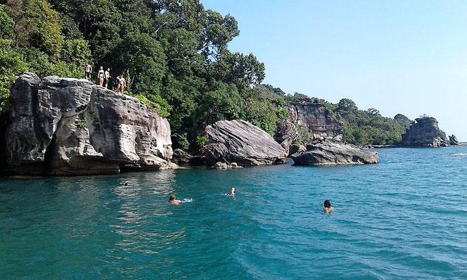 Boat trip Koh Ta Kiev Island - Sihanoukville